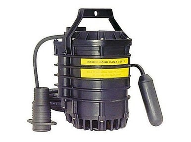 Pompe pour eau claire chaude