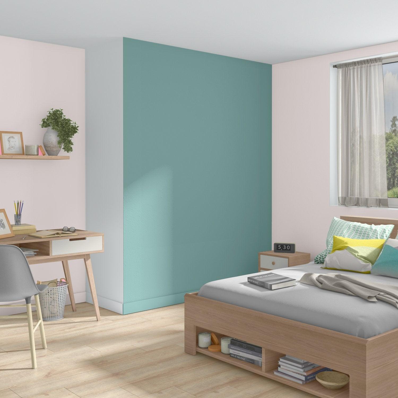 Chambre Adulte Blanc / Beige / Naturel Bleu LUXENS