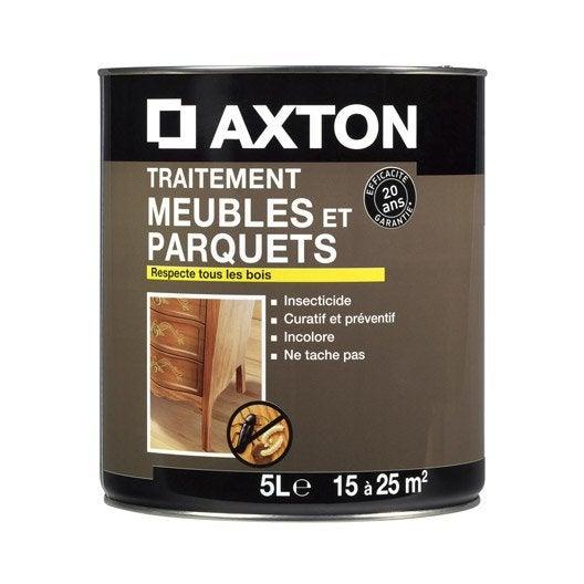 Traitement du bois meuble axton 20 ans 5 l leroy merlin for Traitement meuble bois