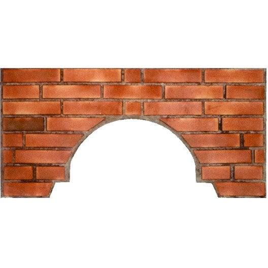 Fa ade en brique gris ros et terre cuite facade briques n 2 x l 5 x - Four a pizza leroy merlin ...