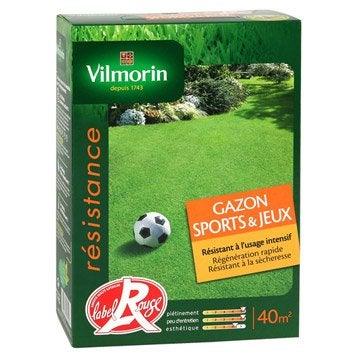 Gazon sport et jeux VILMORIN 40 m²