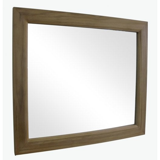 Miroir cm born o leroy merlin for Miroir largeur 50 cm