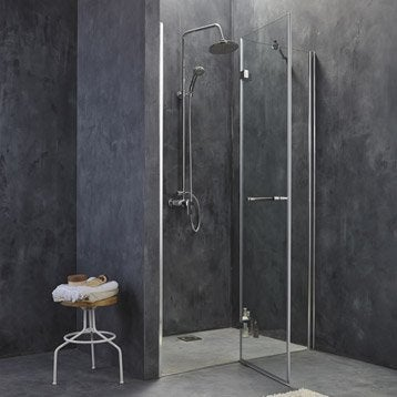 porte de douche leroy merlin. Black Bedroom Furniture Sets. Home Design Ideas