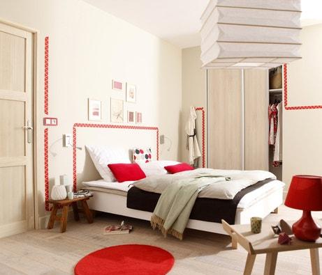 Le rouge réveille la chambre !