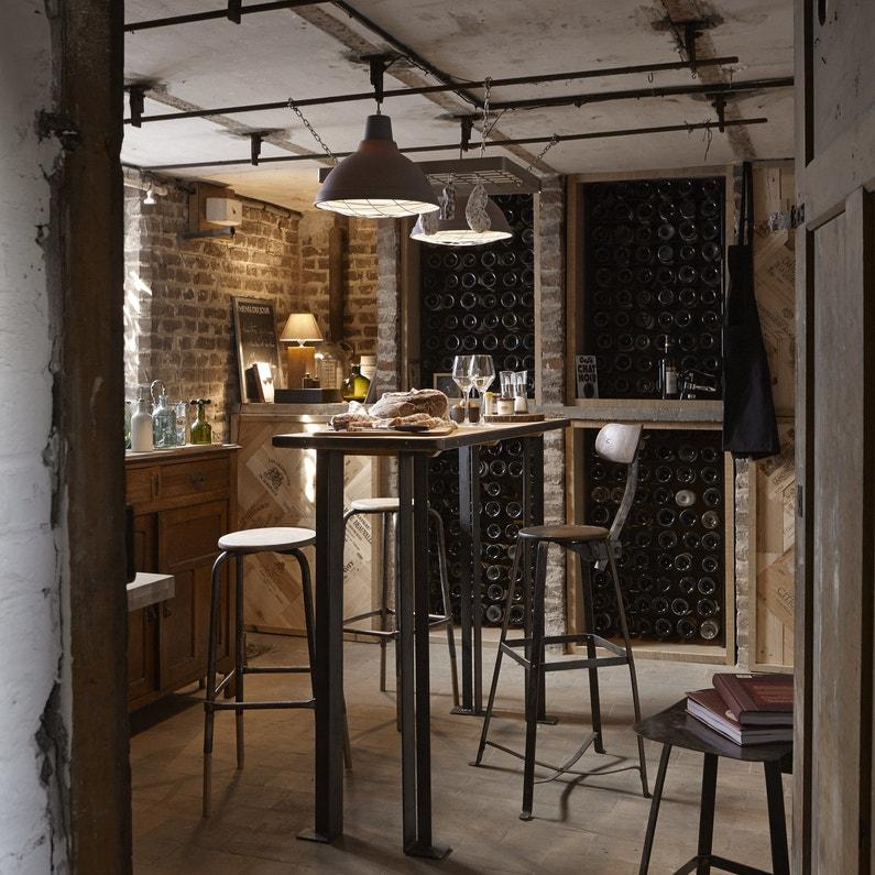 une cave vin id ale pour les d gustations leroy merlin. Black Bedroom Furniture Sets. Home Design Ideas