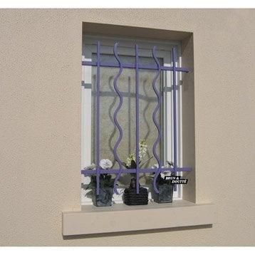 grille de d fense grille de fen tre de protection leroy merlin. Black Bedroom Furniture Sets. Home Design Ideas