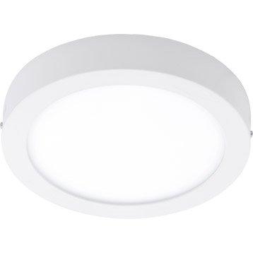 Plafonnier, led intégrée Fueva EGLO, blanc, 22 W