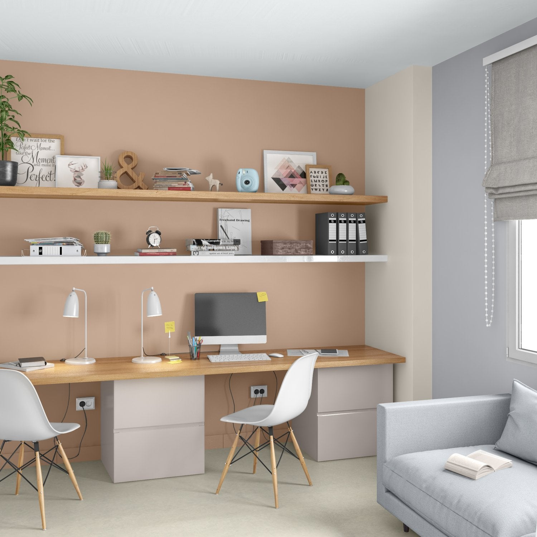 L Espace Bureau Au Style Contemporain Leroy Merlin