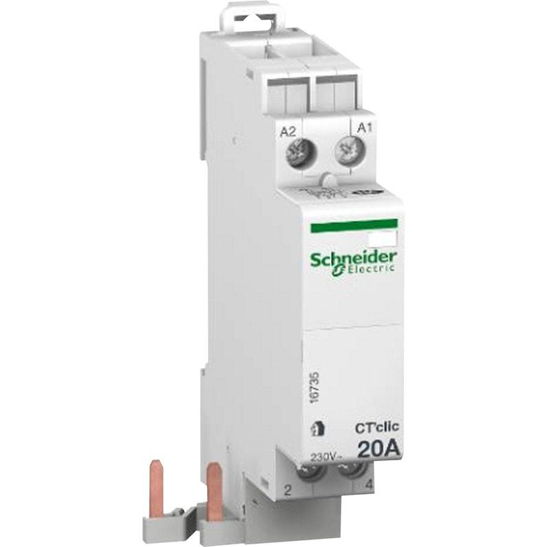 Contacteur Schneider Electric 250 V 20 A