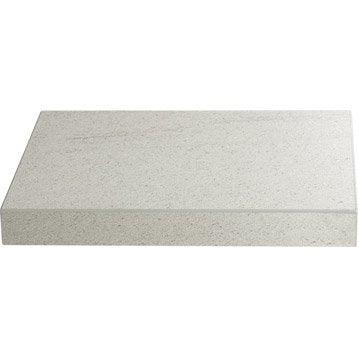 plan de travail stratifi basaltino blanc 315 x 65 cm ep 38 mm. Black Bedroom Furniture Sets. Home Design Ideas