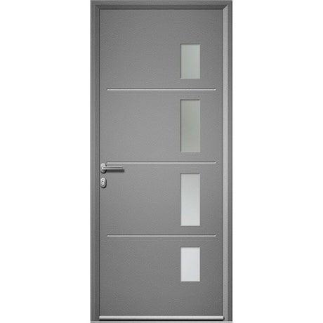 Porte d 39 entr e porte d 39 entr e sur mesure porte pvc bois - Porte entree alu leroy merlin ...