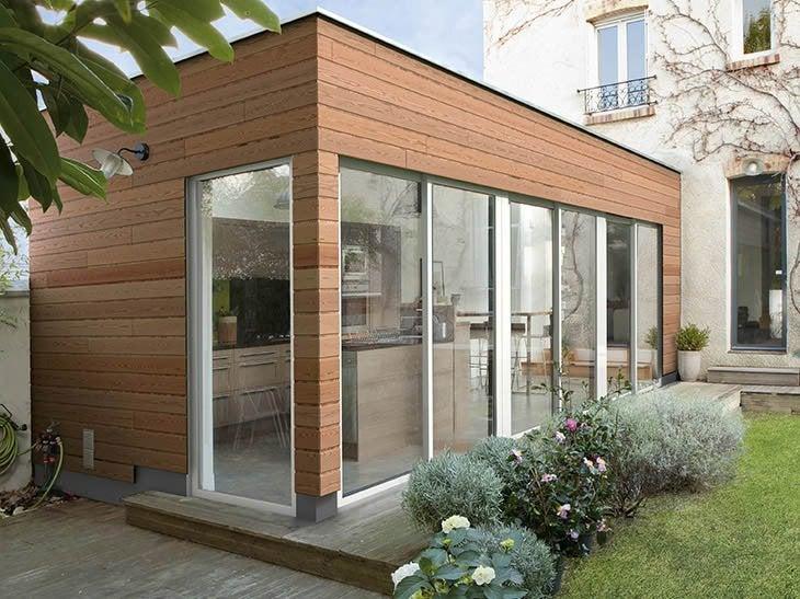 Comment faire une extension de maison orleans design for Extension maison sans autorisation