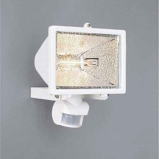 Projecteur fixer ext rieur d tection tanko r7s for Eclairage exterieur avec detecteur leroy merlin