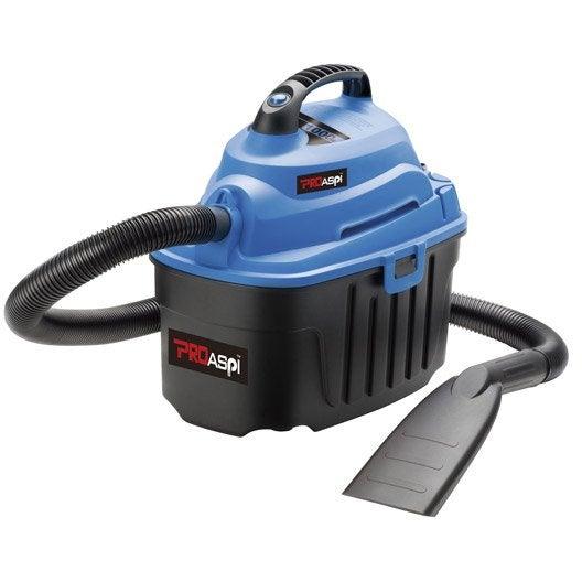 aspirateur eau et poussières compact 10p, 12 kpa , 10 l | leroy merlin