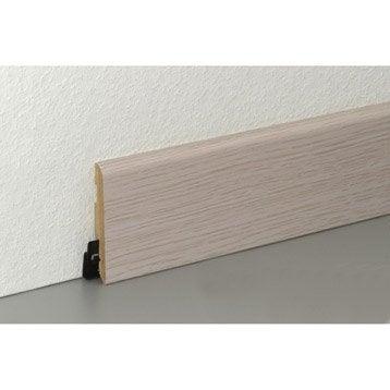 plinthe pour parquet et stratifi parquet stratifi et plancher leroy merlin. Black Bedroom Furniture Sets. Home Design Ideas