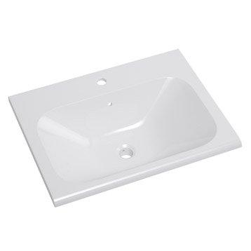 Plan vasque simple Opale Céramique 61.0 cm