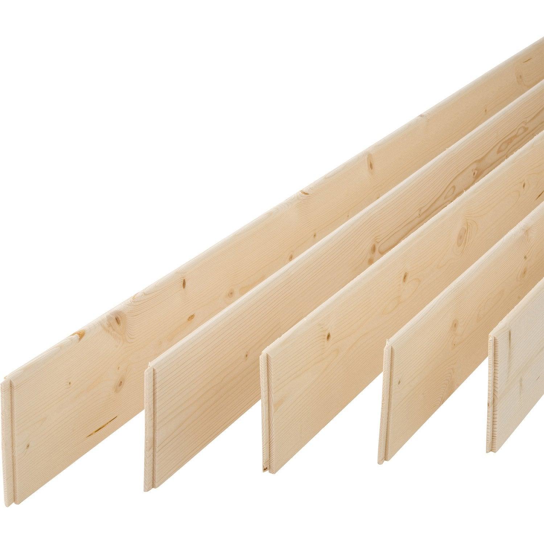 lot de 5 plinthes sapin petits noeuds arrondie 9 x 95 mm l m leroy merlin. Black Bedroom Furniture Sets. Home Design Ideas
