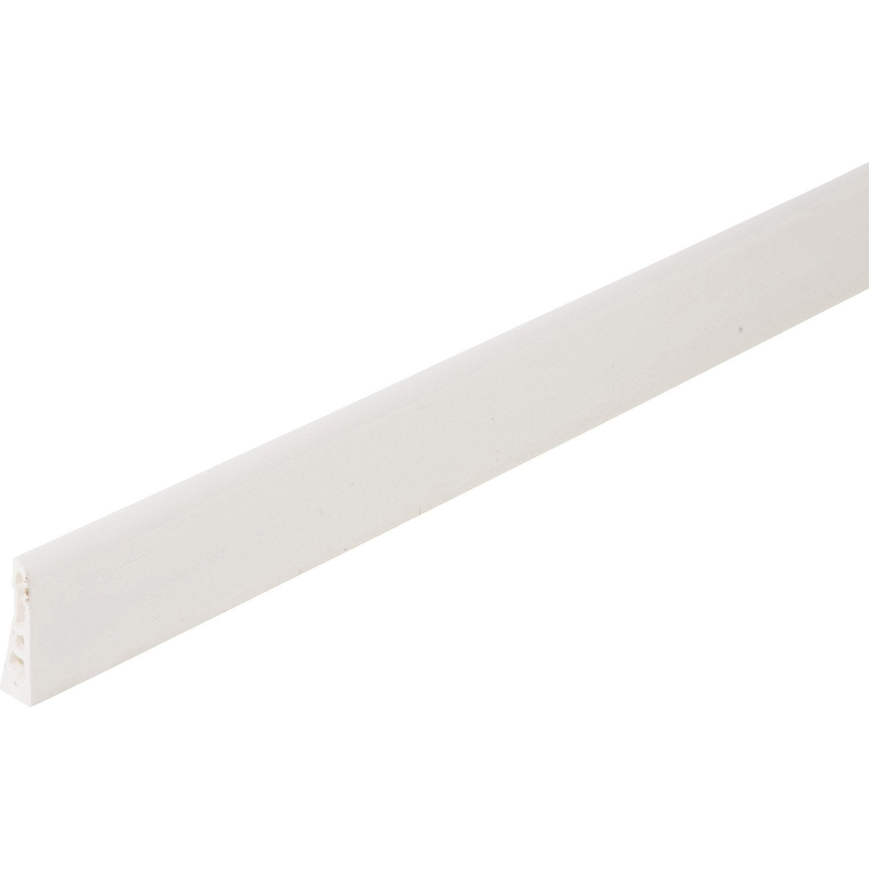 Plinthe Pvc Blanc 15 X 60 Mm L 2 5 M Leroy Merlin