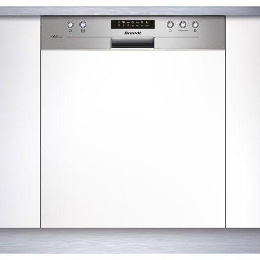lave vaisselle int grable cm brandt vh1505x 13 couverts leroy merlin. Black Bedroom Furniture Sets. Home Design Ideas