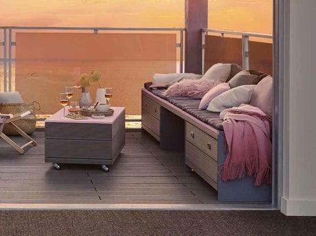 comment r aliser une banquette avec table int gr e leroy merlin. Black Bedroom Furniture Sets. Home Design Ideas