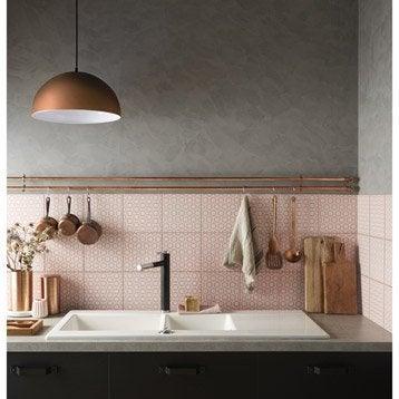 Décor Astuce rosace bistro n°6, l.20 x L.20 cm