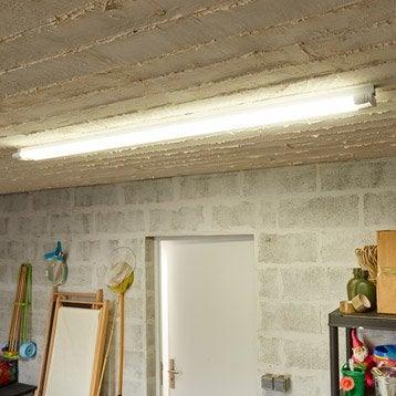Réglette, LED 2 x 24 W, G13 blanc froid