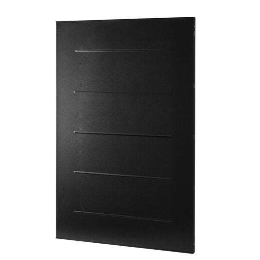 plaque de protection murale noir atelier dix neuf parallel cm x cm leroy merlin. Black Bedroom Furniture Sets. Home Design Ideas