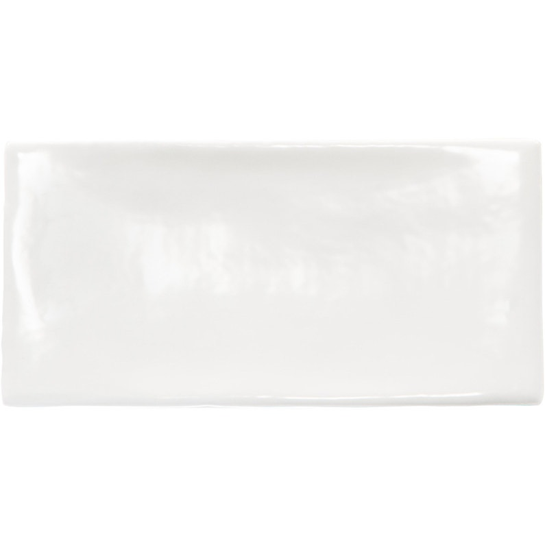 Carrelage Mur Uni Blanc Brillant L75 X L30 Cm Bakerstreet