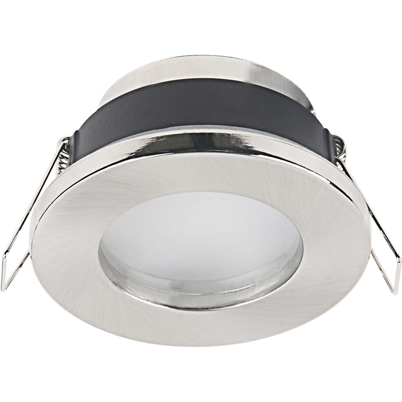 Salle De Bain Chambre Plan ~ anneau pour spot encastrer salle de bains lecco fixe inspire acier