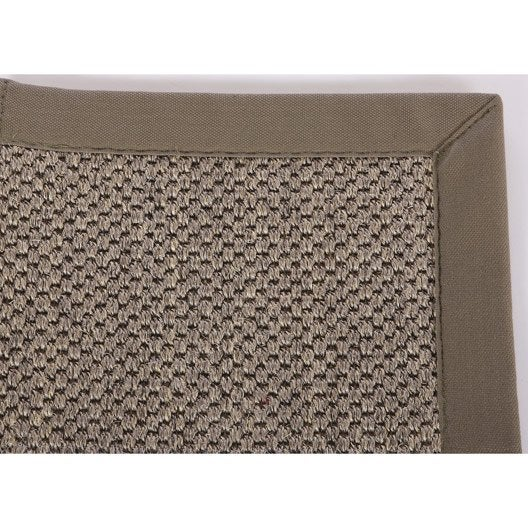 tapis sur mesure rio taupe leroy merlin. Black Bedroom Furniture Sets. Home Design Ideas