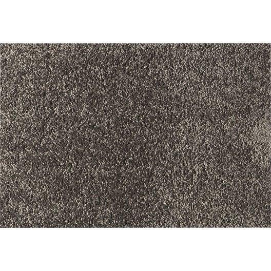 tapis sur mesure lea gris leroy merlin. Black Bedroom Furniture Sets. Home Design Ideas
