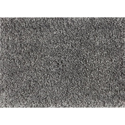 tapis sur mesure ninon gris leroy merlin. Black Bedroom Furniture Sets. Home Design Ideas
