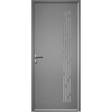 Porte d 39 entr e porte d 39 entr e sur mesure porte pvc bois aluminium porte ext rieur leroy - Porte d entree 200 x 90 ...