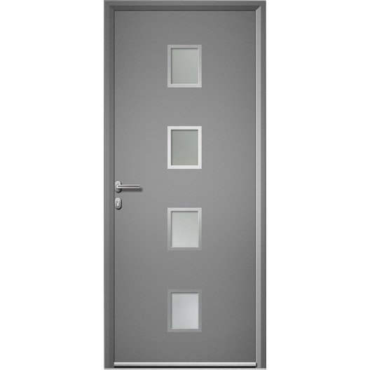 porte d 39 entr e aluminium baltimore artens poussant droit. Black Bedroom Furniture Sets. Home Design Ideas