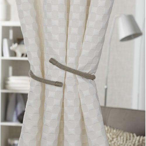 rideau voilage vitrage et rideaux sur mesure leroy merlin. Black Bedroom Furniture Sets. Home Design Ideas