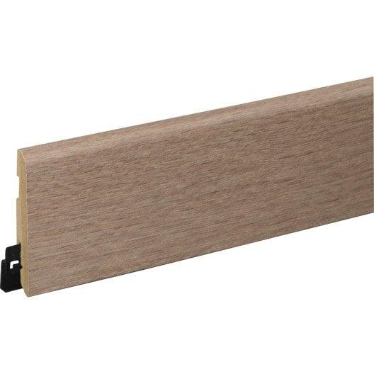 plinthe sol stratifi d cor n 320 cm x x mm leroy merlin. Black Bedroom Furniture Sets. Home Design Ideas