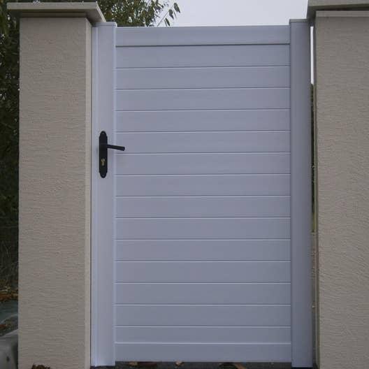 Best Portillon Jardin Pvc Blanc Pictures - Amazing House Design ...