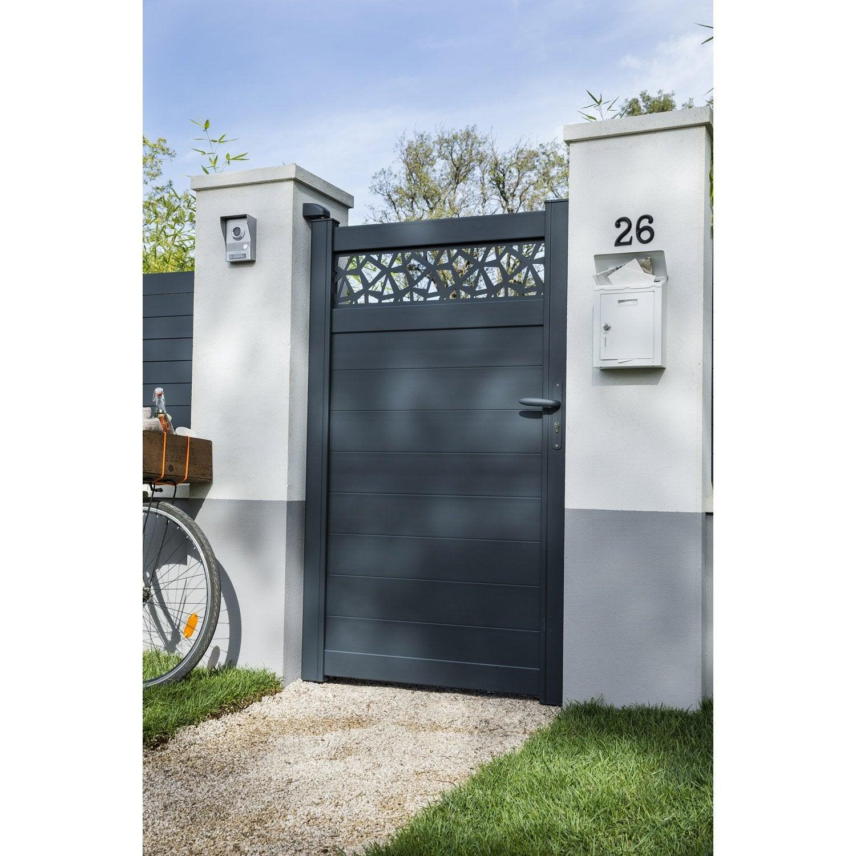 taille portillon perfect portillon soud eco vert with taille portillon interesting vidaxl. Black Bedroom Furniture Sets. Home Design Ideas