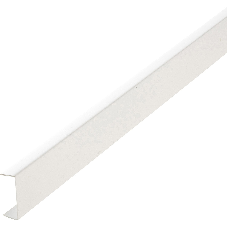 Nez De Cloison Pvc Blanc 20 X 54 Mm L26 M