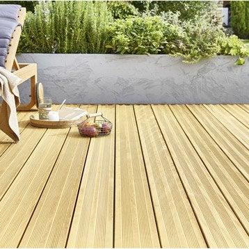 Lame bois pour terrasse et jardin dalle et lame bois for Planche bois pour exterieur