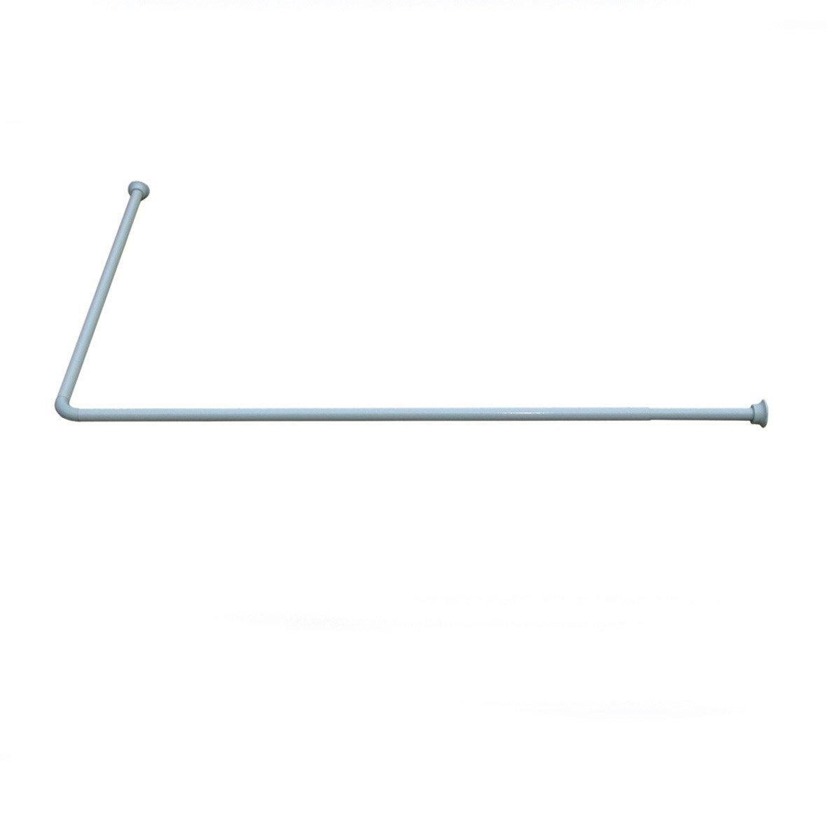 Tringle D Angle Dressing barre coudée angle droit l.190 cm, sensea