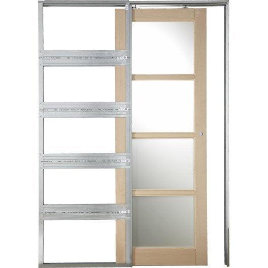 syst me galandage artens 3 artens pour porte de largeur 93 cm leroy merlin. Black Bedroom Furniture Sets. Home Design Ideas