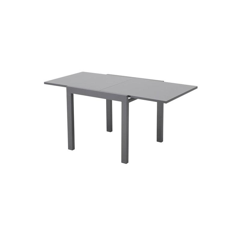 Table de jardin NATERIAL Lisboa rectangulaire gris 6/8 personnes ...