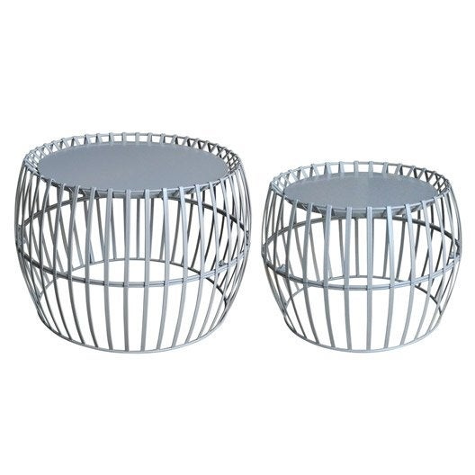 table basse rondes ronde blanc 2 personnes leroy merlin. Black Bedroom Furniture Sets. Home Design Ideas