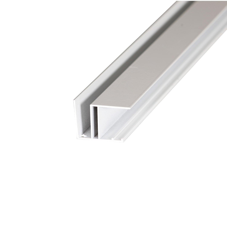 profil bordure pour plaque ep 16 mm blanc laqu l 4 m leroy merlin. Black Bedroom Furniture Sets. Home Design Ideas
