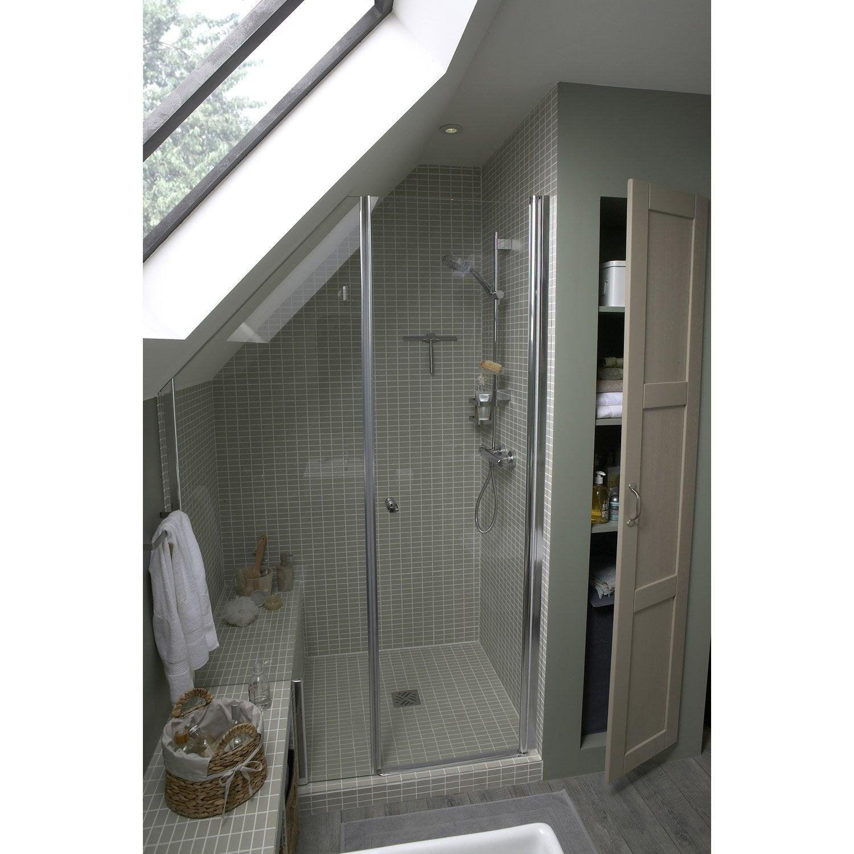 banquette de douche x cm leroy merlin. Black Bedroom Furniture Sets. Home Design Ideas