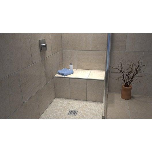 panneau et tablier pr t carreler pour salle de bains douche au meilleur prix leroy merlin. Black Bedroom Furniture Sets. Home Design Ideas
