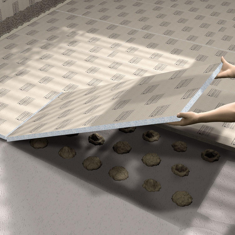panneau pr t carreler cm x p 6 mm leroy merlin. Black Bedroom Furniture Sets. Home Design Ideas