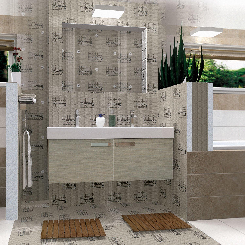 panneau pr t carreler x cm p 80mm leroy merlin. Black Bedroom Furniture Sets. Home Design Ideas
