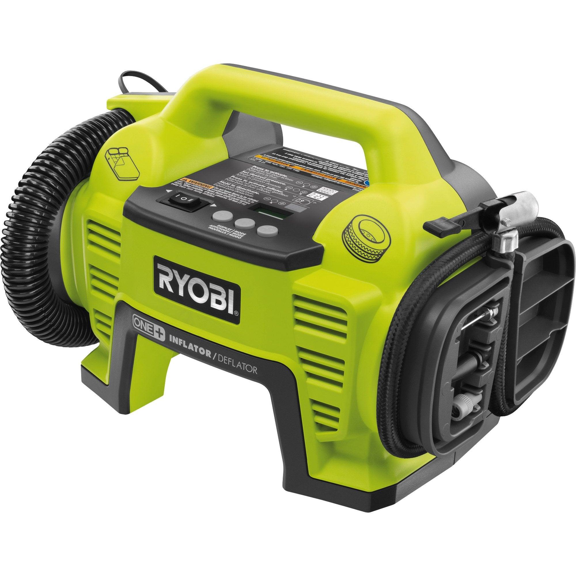 compresseur de loisirs ryobi 0 l 0 5 cv r18i